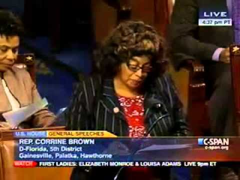 Rep. Corrine Brown Advocates for the CBC Budget Alternative