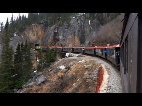Skagway Alaska White Pass & Yukon Route Railroad Tour