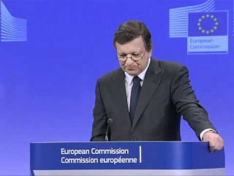 Barroso appelle à la mobilisation de l'Europe