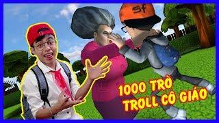 1000 Cách Troll Cô Giáo Của ThắnG Tê Tê | Scary Teacher Troll Game