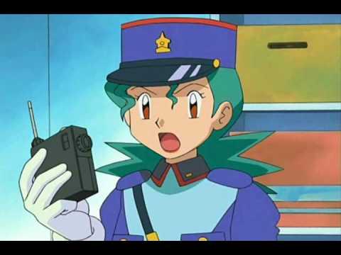 Pokemon officer jenny as hannah montana youtube