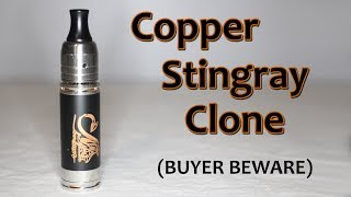 Copper Stingray Clone (made by Skorite) - Buyer Beware