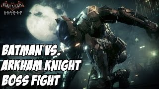 Batman Arkham Knight Boss Fight vs. (Jason Todd) Robin Identity Reveal