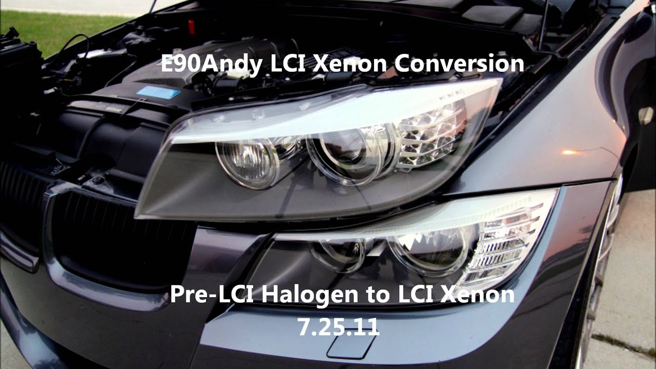 E90andy E90 E91 Lci Bi Xenon Led Conversion New Youtube
