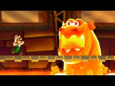 New Super Luigi U 100% Walkthrough Part 5 World 5 (5-A,5-1,5-2,5-3,5-T,5-G,5-4,5-5,5-6,5-7,5-C,5-S)