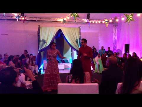 Surprise Sangeet Dance - Chal Pyar Karegi & Gal Mithi Mithi...