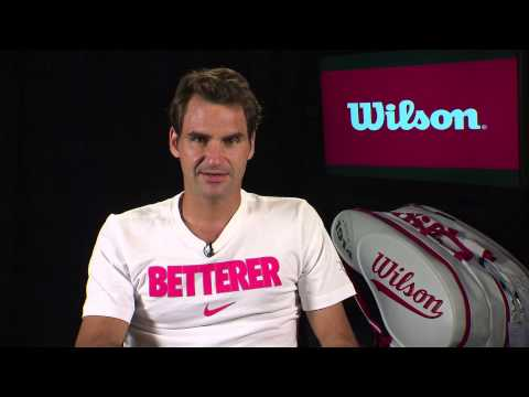 Exclusive Interview with Roger Federer