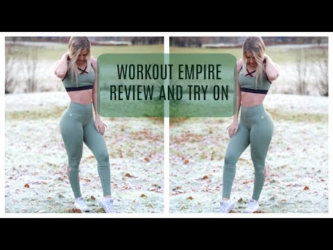 WORKOUT EMPIRE REVIEW AND TRY ON - WORTH YOUR MONEY?