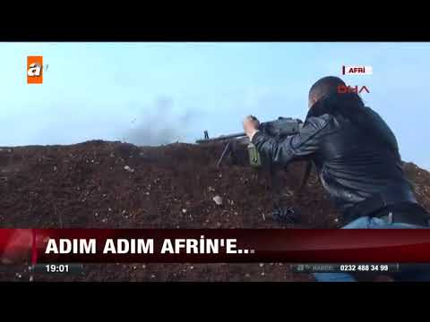 Adım adım Afrin'e - 15 Şubat 2018