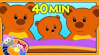 Ten In The Bed Nursery Rhymes | Baby Songs | Silly Sox