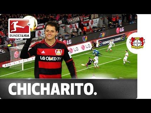 Javier Hernandez Scores Super Hat-Trick Against Mönchengladbach