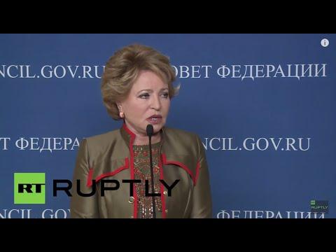 "Russia: Matviyenko lambasts Kiev for ""illegal"" debt moratorium"