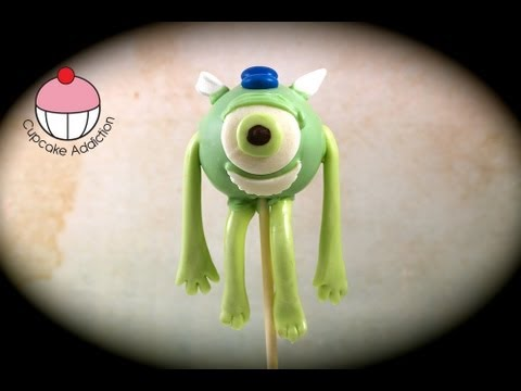 Monsters University Cake Pop! Make Monsters Inc Cakepops - A Cupcake Addiction How To Tutorial