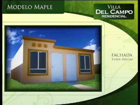 Urbi Villa Del Campo Casa Modelo Maple Youtube