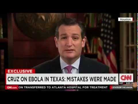 Sen. Ted Cruz Discusses Ebola with Candy Crowley on CNN's State of the Union