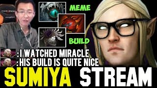 WTF Meme Build & Miracle's Meta | Sumiya Invoker Stream Moment #151