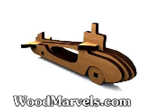 Build your own wooden Submarine!