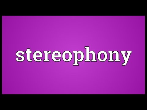 Header of stereophony