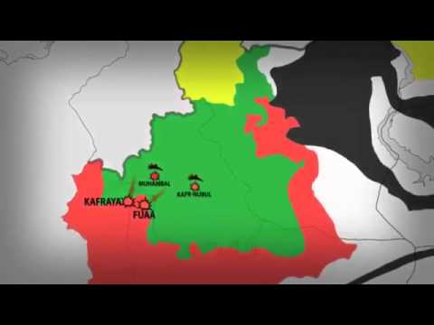 War in Syria  Current FrontLine Situation 4 September 2015