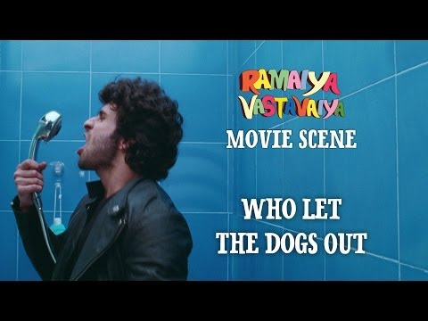 Who Let The Dogs Out - Ramaiya Vastavaiya Scene - Girish Kumar...