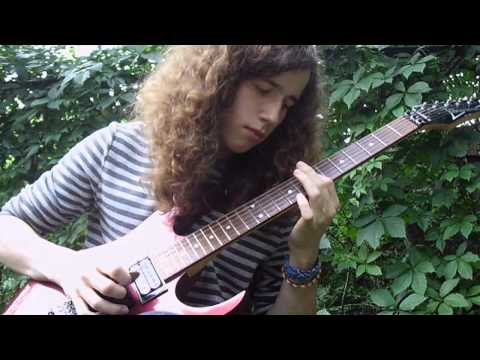 Marty Friedman - Melodic Control 1st, 2nd, 3rd Solo (guitar cover)