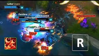 LoL Best Moments #147 Press R pentakill (League of Legends)