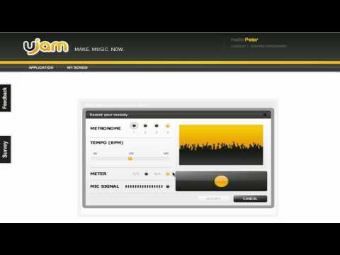 "UJAM Tutorial ""First overview"""