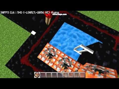Minecraft Efficient Vertical TNT Cannon/Flaregun