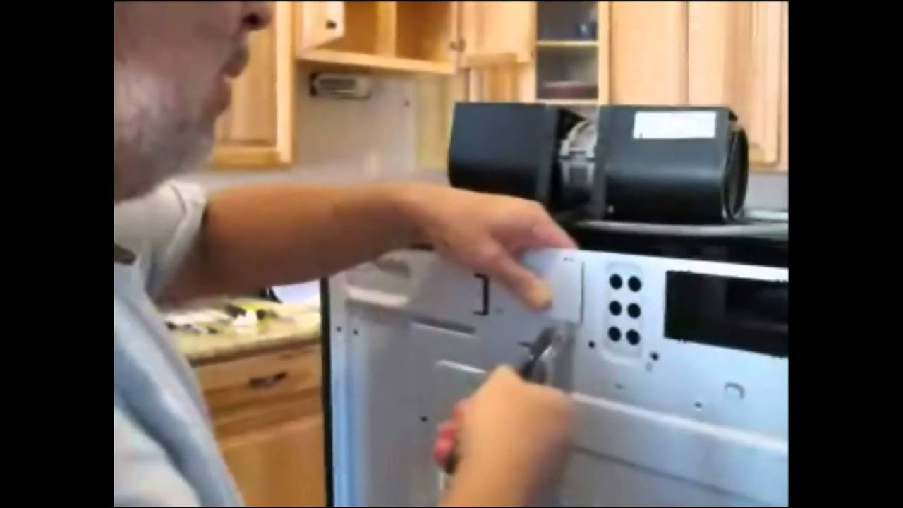 Microwave Oven Vent To Exterior Wall Youtube