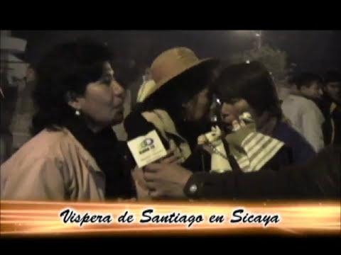 VISPERA DE SANTIAGO EN SICAYA 2012
