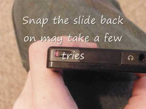 How to fix Zune lock/unlock button