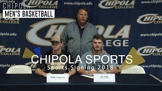 Chipola Baseball Signing 2018