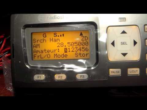 Radio Shack Pro 652 Desktop Digital Scanner Unboxing and Review