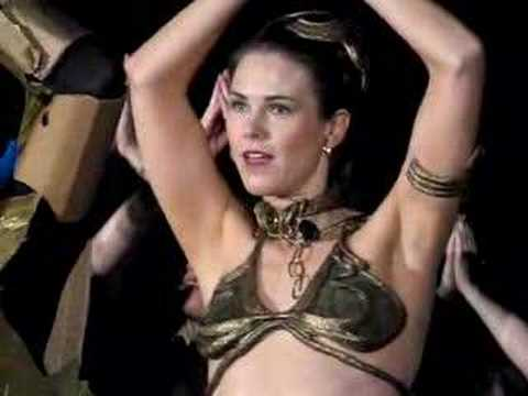 More Slave Girl Leia Bellydancing Lessons at C4