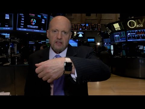 Apple Watch Unboxed by Jim Cramer For First Time