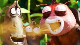 LARVA - STRONG BREATH | Cartoon Movie | Cartoons For Children | Larva Cartoon | LARVA Official