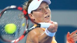 Sam Stosur vs Varvara Lepchenko highlights (1R) - Brisbane International 2015
