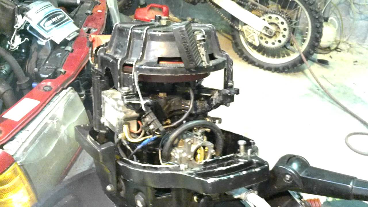 40 Hp Mercury Carburetor Adjustments