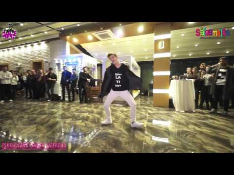 Oktay Murat Kavak Solo Dance Performance - Iskenderun Salsa Weekend