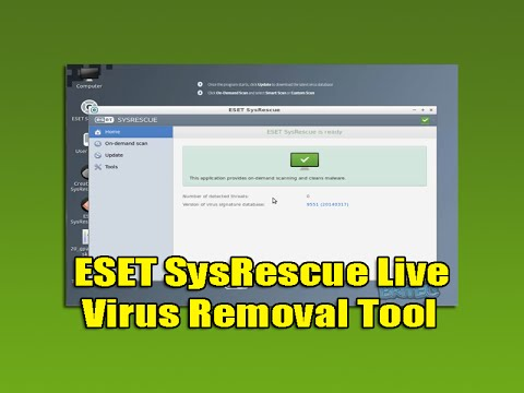 ESET SysRescue Live Virus Removal Tool