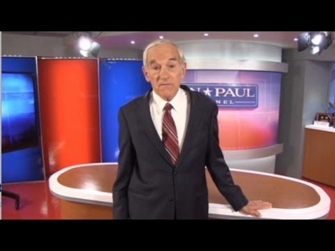 Ron Paul launches his own online TV channel