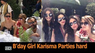 B'day Girl Karisma Parties with Kareena & Sonam in London