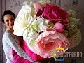 Дело в ШЛЯПЕ!!! РОЗЫ в огромной шляпной коробке / Видео мастер-класс №1