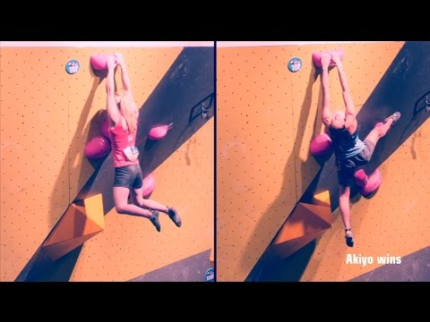 Boulder World Cup 2014 - final report