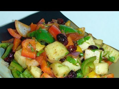 Tri Color Stirfry - Indian Recipes