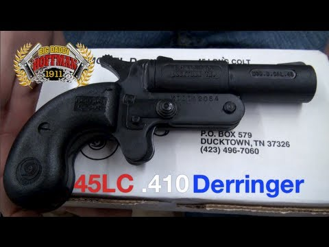 Double Barrel Derringer 45 410