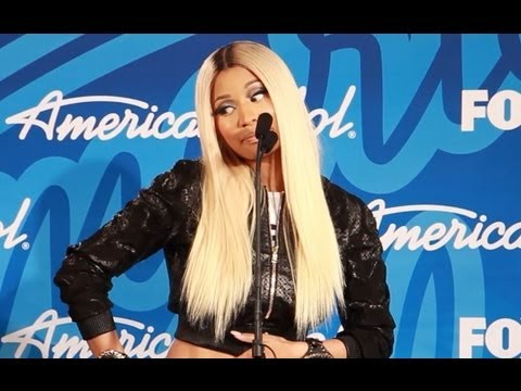 "NICKI MINAJ INTERVIEW- ""AMERICAN IDOL"" FINALE TALKS NEW MUSIC"