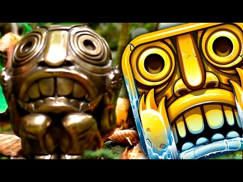 TEMPLE RUN 2 IN REAL LIFE – (Frozen Shadows Movie)