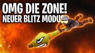 OMG DIE ZONE! 🔴 DER NEUE BLITZ MODUS! | Fortnite: Battle Royale