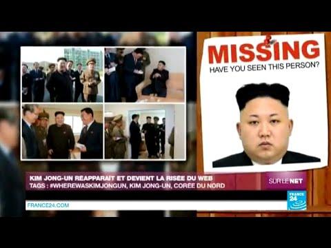 Kim Jong-Un reapparaît et devient la risée du web - Sur le Net